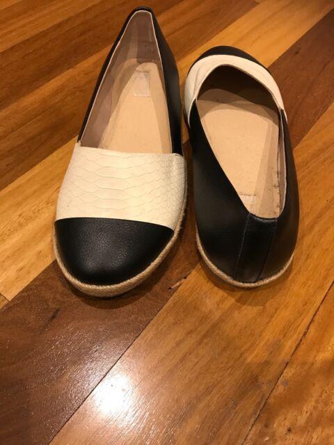 423e8f0c9a3 NUDE BRAND MYER size 7 / 38 cream/ black women's shoes