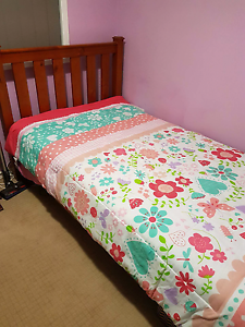 King Single Bed plus mattress Corio Geelong City Preview