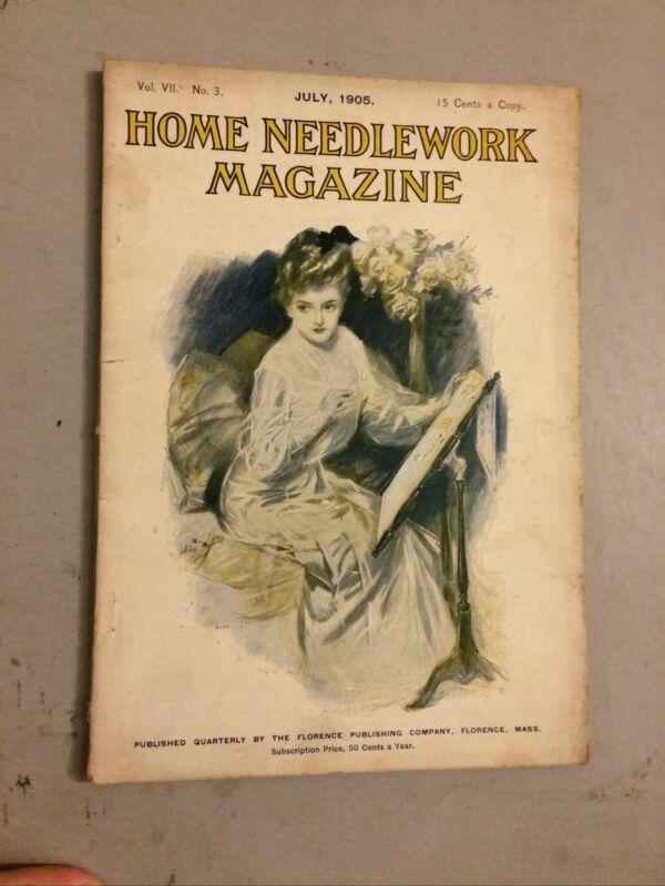 Home Needlework Magazine, July 1905 Volume 7 No 3 Fashion Knitting Henry Hutt