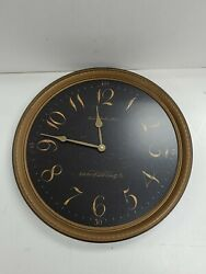 Howard Miller Paris Night Moment In Time Pendulum Wall Clock