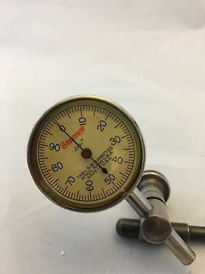Starrett Dial Test Indicator With Rod And Clamp For Mounting On Magnetic Base