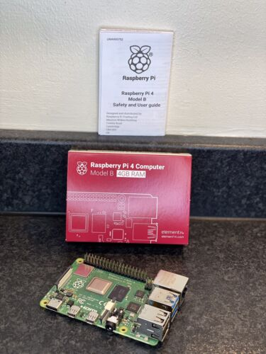 Computer Games - Raspberry Pi 4 Model B With 4GB Ram DDR4 Ram USB 3.0 Single Board Computer