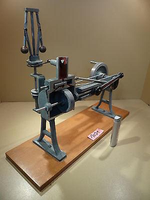 Dampfmaschine Schnittmodell mit Fliehkraftregler / Top Zustand für das Alter