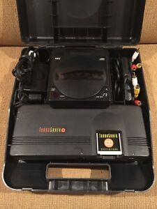 Turbografx 16 Turbo CD and rental case