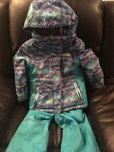 Xmtn Two Piece Snow Suit, Toddler size 4