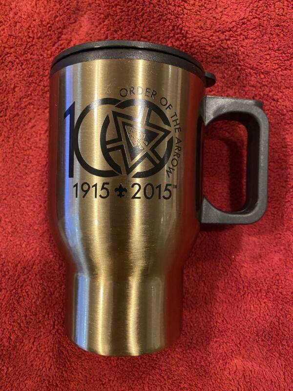 Order Of The Arrow 100th Anniversary Travel Mug