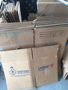 FREE Moving Boxes - located in Duncan