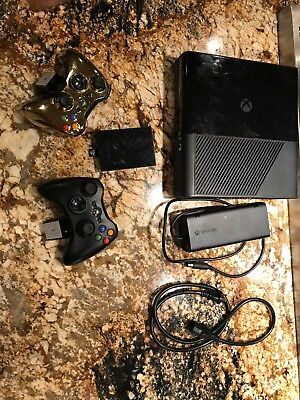 Used, Used Xbox 360 Slim E, 250 GB, 2 Controllers, Power Cord for sale  Albuquerque
