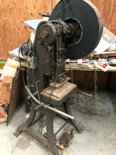 Vintage EW Bliss 2 Ton Punch Press Works
