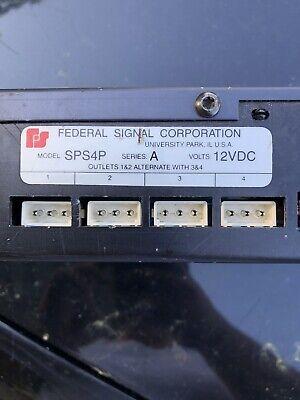 Federal Signal Strobe Control Box