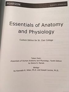 Anatomy and physiology text book.  Windsor Region Ontario image 2