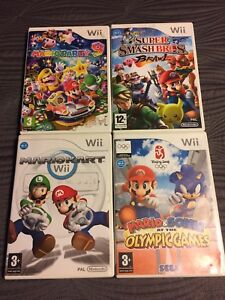 Mario Wii Games **PAL format