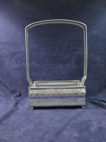 Imperial Cape Cod Metal Holder for Square Decanters