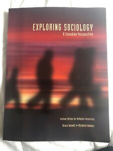 Exploring Sociology A Canadian Perspective