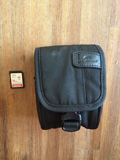 FOUND camera case and memory card