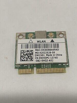 Genuine Dell XPS 8300 DW1501 WiFi Wireless Card BCM94313HMG2L WHDPC K5Y6D