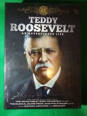 Teddy Roosevelt An Adventurous Life DVD & CD Historic Archives