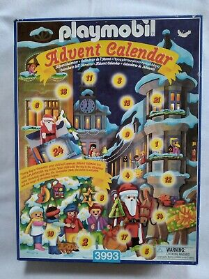 PLAYMOBIL ADVENT CALENDAR 3993 COMPLETE with MANUAL COUNTDOWN to CHRISTMAS