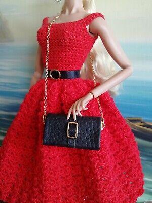Handtasche*Barbie Clutsch*Fashion Royalty Jewelry*Barbie Silkstone Accessoires
