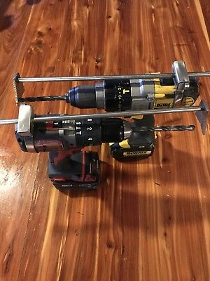 Hook Drill Is A Attachment That Makes A Portable Drill Press.