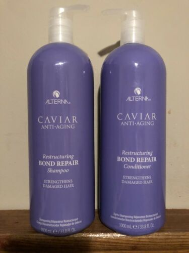 Shampoo & Conditioner 33.8 Liter Set Duo - Alterna Caviar Bond Repair