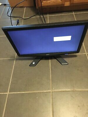 "Acer X203H B 20"" LCD Widescreen Monitor DVI-D w/Power Cable"