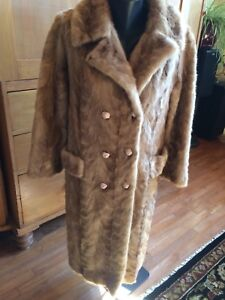 Full Length Natural Blue Iris Mink Paw Coat