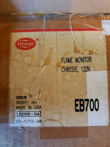 Fireye Flame monitor chassis EB700