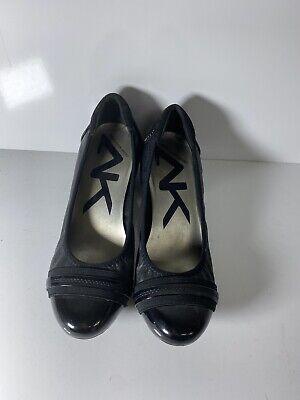 Anne Klein Sport patent leather block heel shoe Womens 6