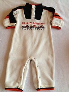 Harley Davidson one piece outfit, size 18 month