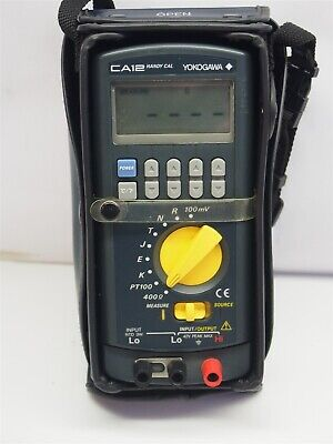 Yokogawa Handy Cal Ca12 Multifunction Calibrator 710