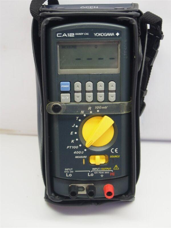 Yokogawa Handy Cal CA12 Multifunction Calibrator 710