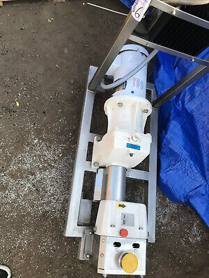 Viking Pump Series S2l With Controller Mounted On Stainless Steel Cart