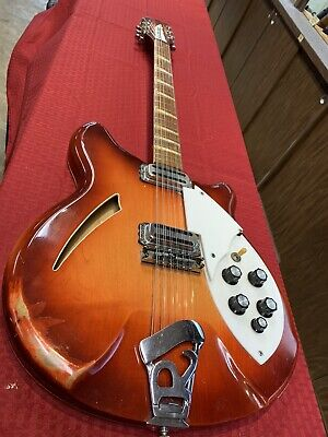 All Original 12 String Rickenbacker Stereo 1964, Vintage Guitar Fireglo