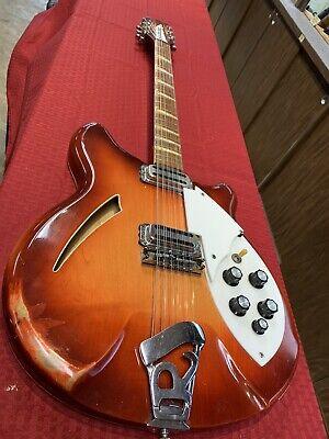 All Original 12 String Rickenbacker Stereo 1964, Vintage Guitar Fireglo