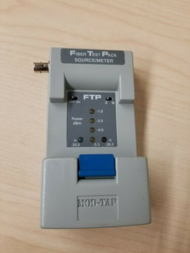 MOD TAP Fiber Test Pack Source/Meter FTP