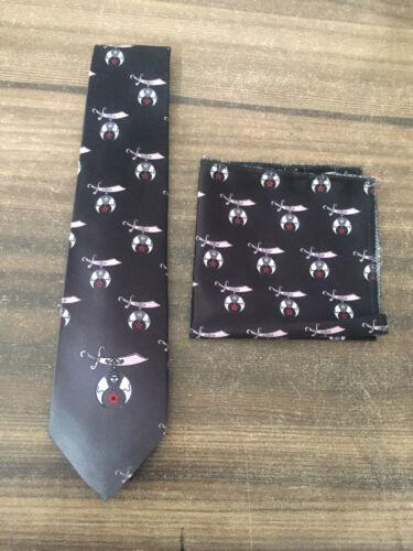 Shriner Ties, Masonic Ties,Masonic Square & Compass Ties, Shriner handkerchief,