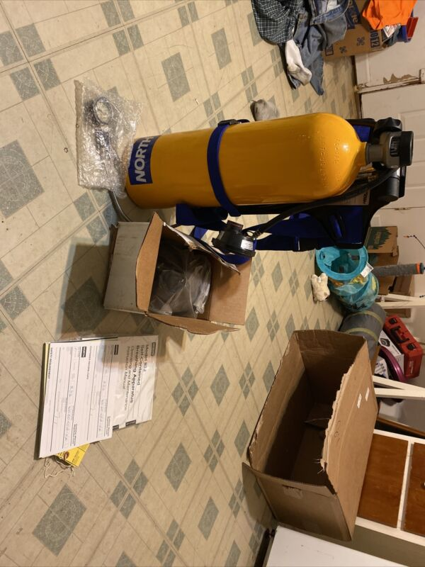 Used North 800 Series Self Contained Positive Pressure Breathing Apparatus