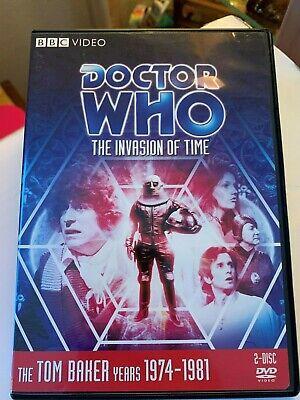 Doctor Who: The Invasion of Time 2-Disc Story 97 Tom Baker BBC DVD VIDEO 1978