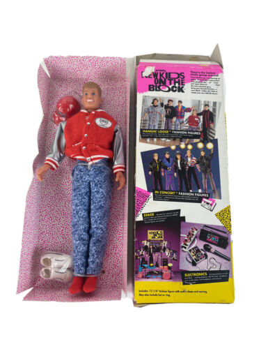 New Kids On The Block Doll Joe 1990 Hangin Loose Open Box - $35.90