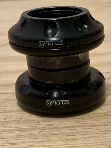 Syncros Hardcore Factory headset, black, 1 1/8 threadless, vintage, rare, MTB
