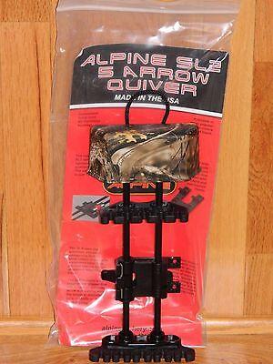 Alpine SL2 Detachable Soft Loc 5 Arrow Bow Quiver- Mathews Lost Camo- Right Hand