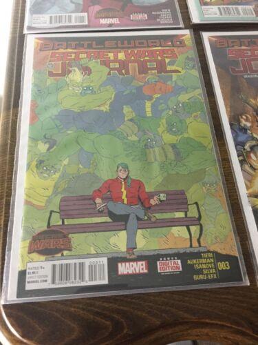 ::Secret Wars Journal #1 #2 #3 #4 #5 (July 2015, Marvel)