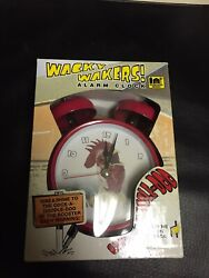 Wacky Wakers Rooster Alarm Clock, New Opened Box