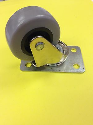 2 Inch Rubber Swivel Caster New