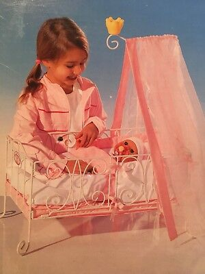 """2005 vintage Baby Annabell Doll Crib By Zapf fits 18"""" Baby Annabell RARE  NIB for sale  Caldwell"""