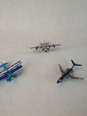 Three Matchbox  Airplanes Die Cast, 2008 2007