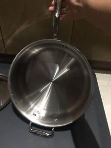 All clad 4qt copper core sauté pan