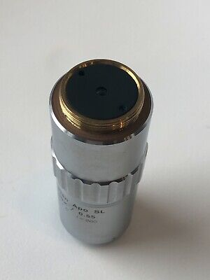 Barely Used Mitutoyo M Plan Apo Sl 100x0.55 0 F200 Objective.