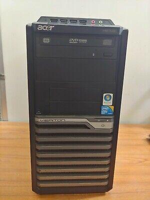 Acer Veriton M670G Min Tower PC Intel Core2 Quad Q8300 / 2GB / 500 GB Hard Drive